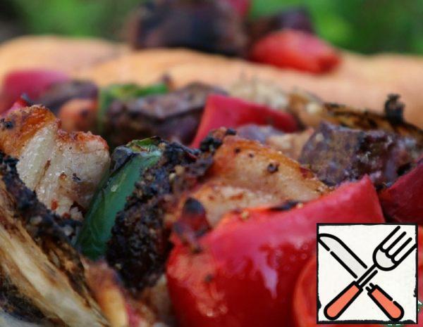 Liver Shish Kebab Recipe