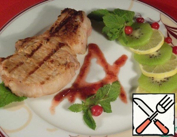 Pork Loin marinated in Kiwi Recipe