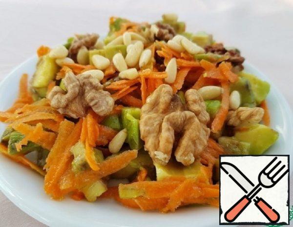 Avocado and Carrot Salad Recipe