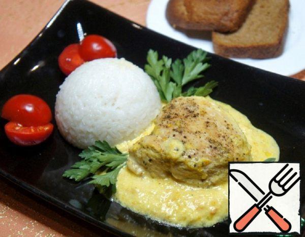 Chicken Breasts in Sour Cream and Orange Sauce Recipe