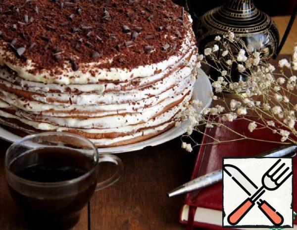 "Cake ""Caramel Girl"" Recipe"
