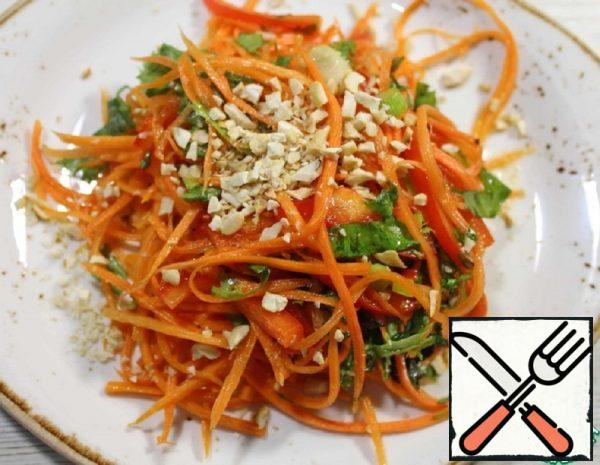 Carrot Salad with a fragrant Dressing Recipe