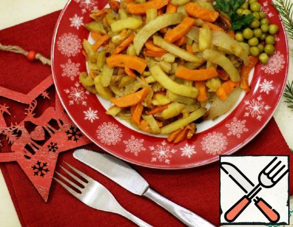 Baked Vegetables with a Secret Recipe