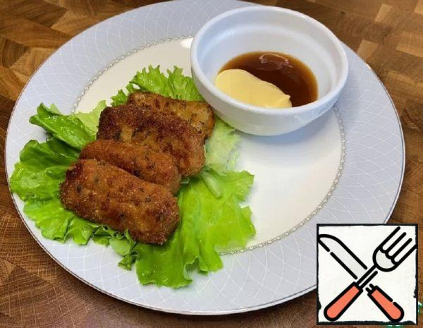 "Snack ""Chicken slices"" Recipe"