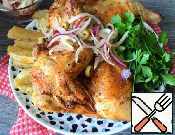 """Chicken with Pickled Onions """"Picnic"""" Recipe"""