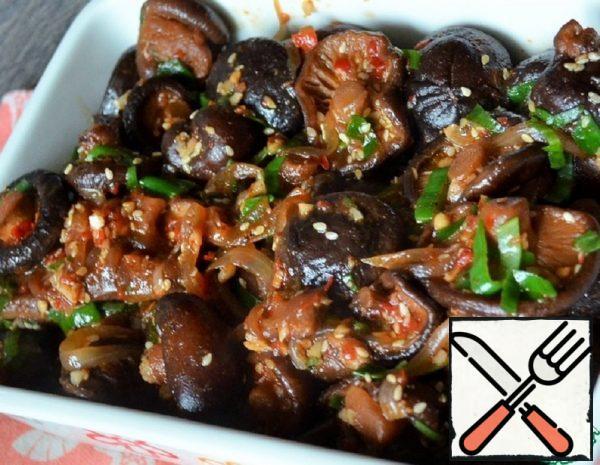 Shiitake in Hot Sauce Recipe