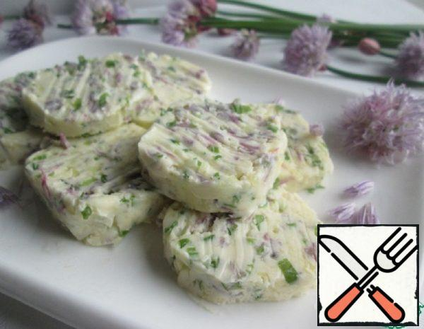 Garlic Butter with Chives Recipe