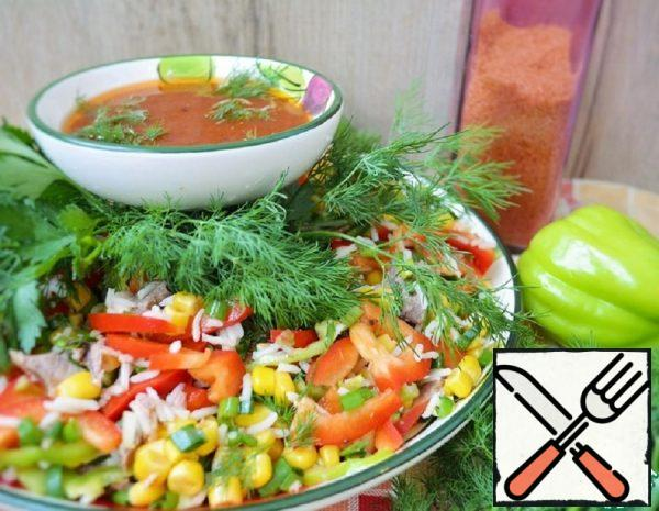 Mexican Salad with Corn Recipe