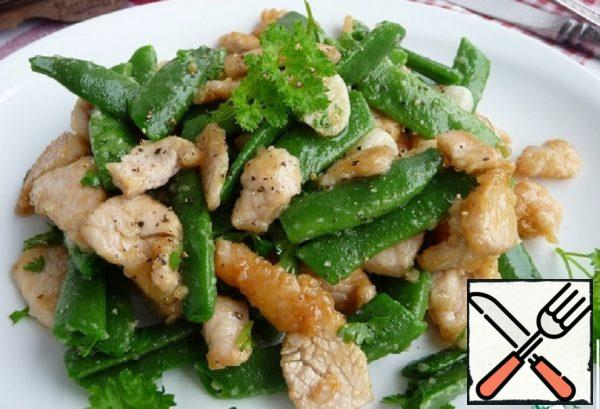 Turkey with String Beans Recipe
