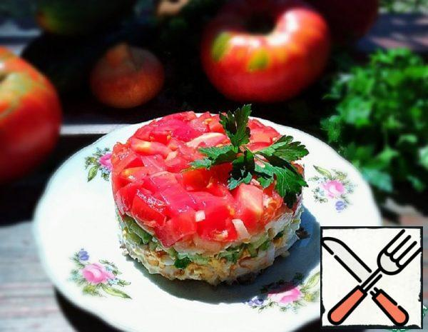 Meat Salad with Vegetables Recipe
