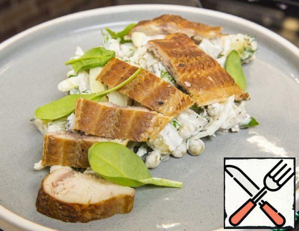 German Salad with smoked Fish Recipe