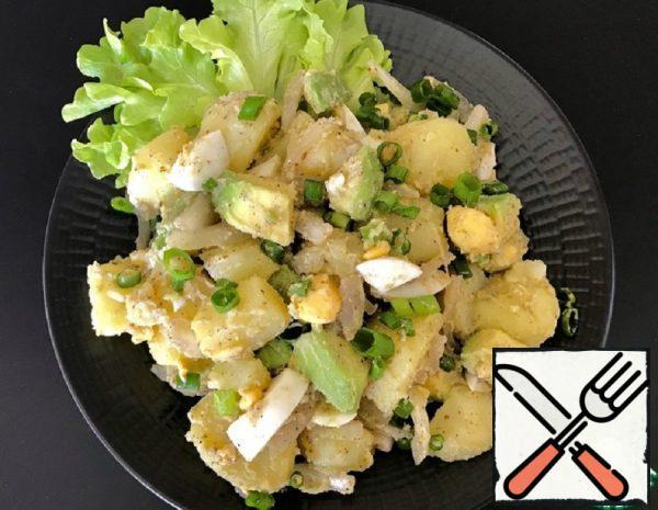Potato Salad with Sumac Recipe