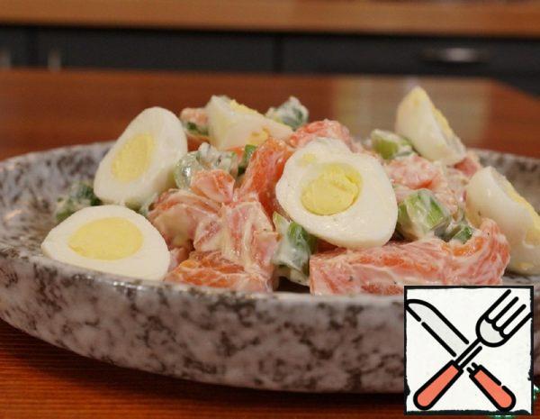 Trout Salad Recipe