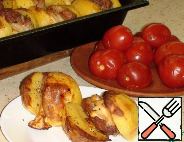 Potatoes with Meat Recipe