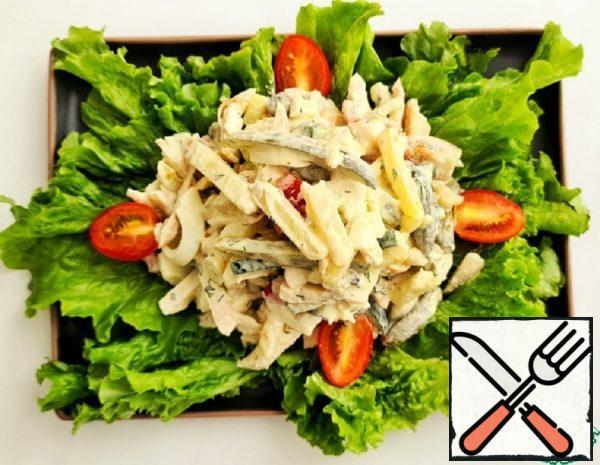 A hearty Salad Recipe