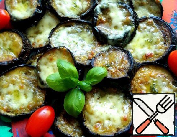 Eggplant with Basil and Mozzarella Recipe