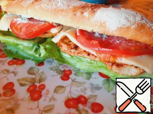 Cover the sandwiches with the top half, press and serve immediately! Bon Appetit!