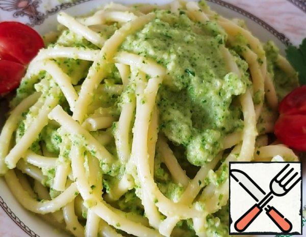Bucatini with Zucchini Sauce Recipe