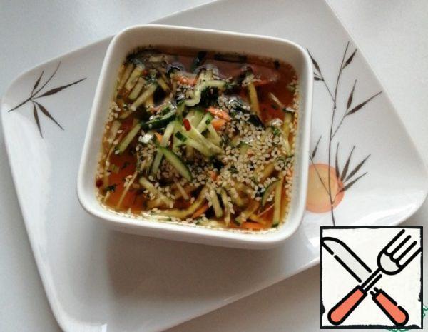 Okroshka in Korean Nengug Recipe
