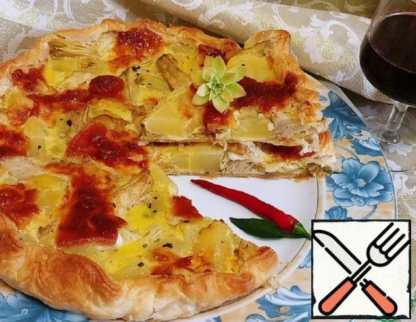 Potato and Artichoke Pie Recipe