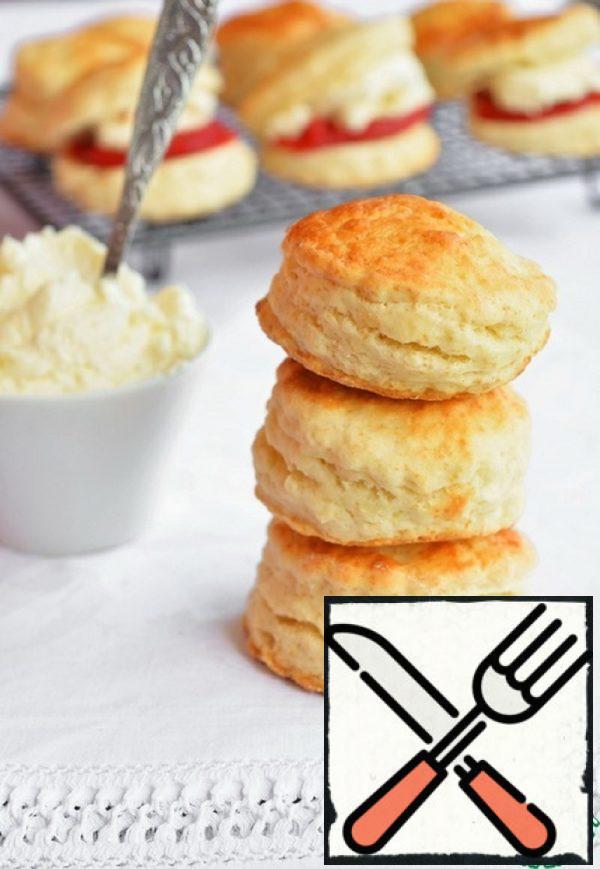 Mary Barry's Devonshire Scones Recipe