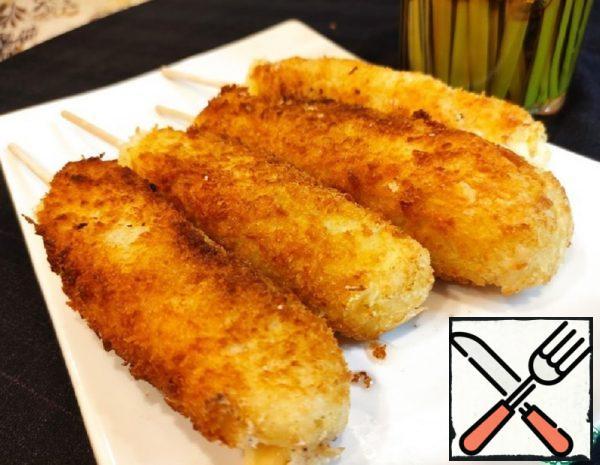 Hot Dog Potato-Cheese in Korean Recipe