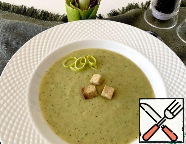 Leek Puree Soup Recipe