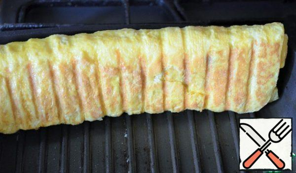 And fry on four sides.