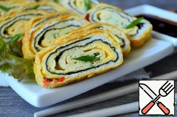 """Korean Egg Roll """"Karen Marie"""" Recipe"""