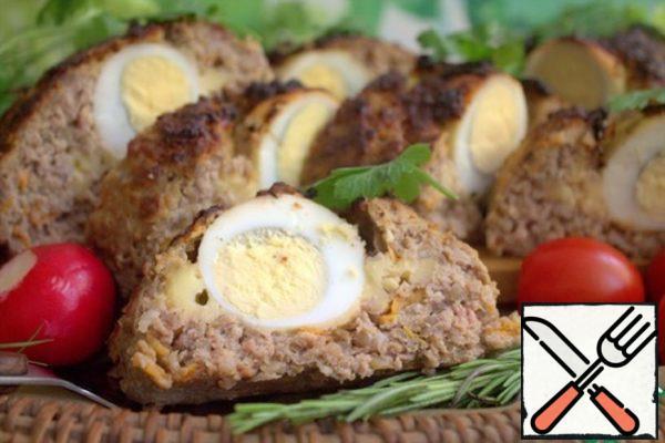 Minced Meat Roll in Estonian Recipe