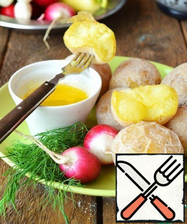 """""""Salted"""" Potatoes in Syracuse Recipe"""