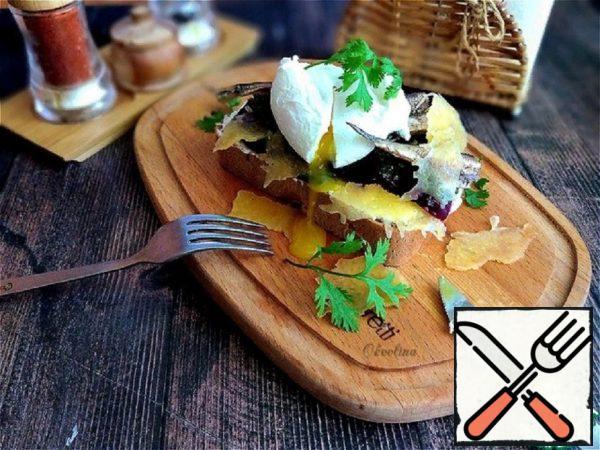Danish Smerrebred with Sprats Recipe