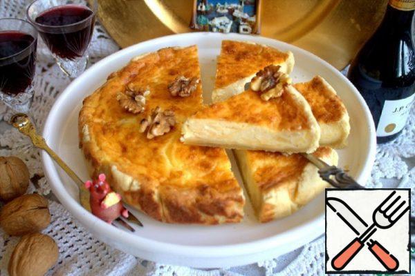 Swedish Cheese Pie Recipe