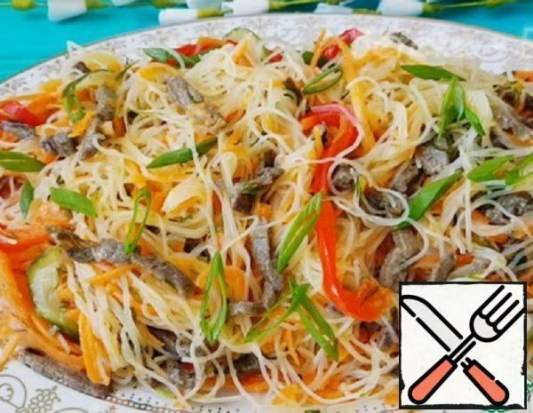 Delicious Funchosa Salad Recipe