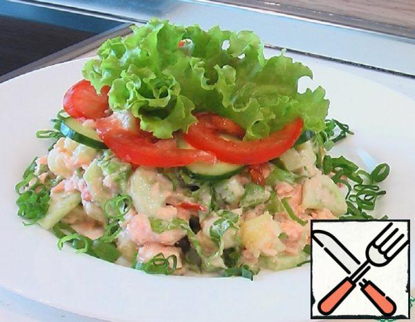 Fish Salad with Tomatoes Recipe