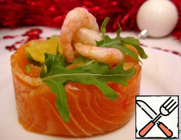 Trout Appetizer with soy Sauce Recipe