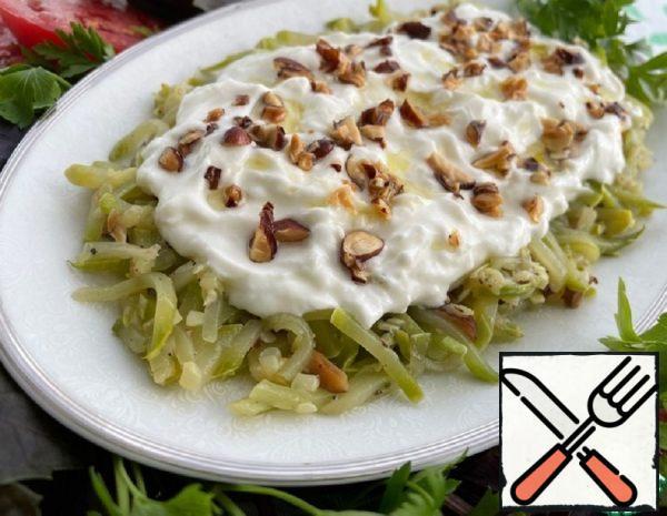"Salad "" Zucchini with Almonds"" Recipe"