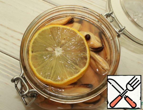 Pickled Mussels with Lemon Recipe