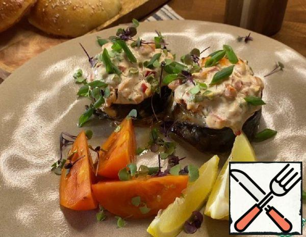 Mackerel with Cream Cheese and Vegetables Recipe