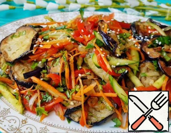 Delicious Eggplant Salad Recipe