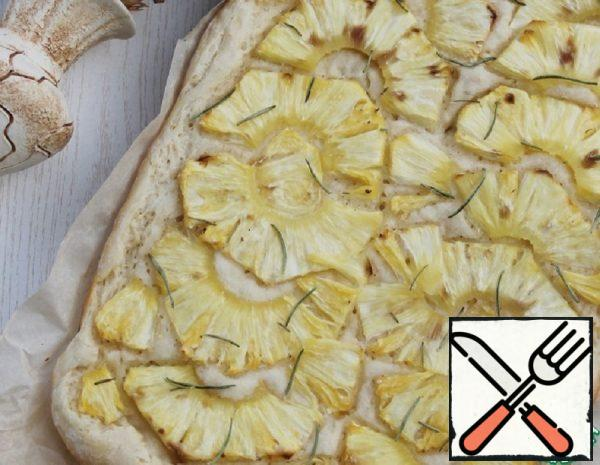 Focaccia with Pineapple and Rosemary Recipe