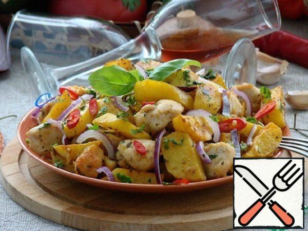 Ojahuri with Chicken Recipe