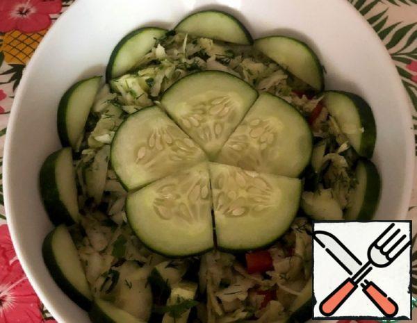 Kohlrabi Salad with Cucumber Recipe