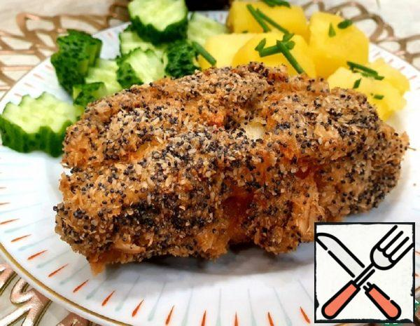 Fish in Poppy-Oat Breading Recipe