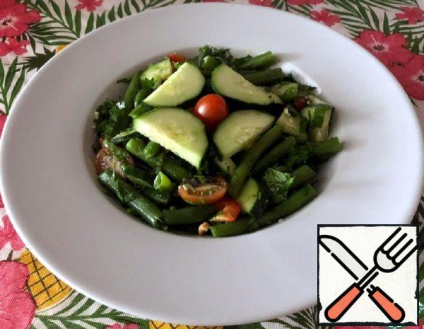 Salad with Green Beans and Pepper Recipe