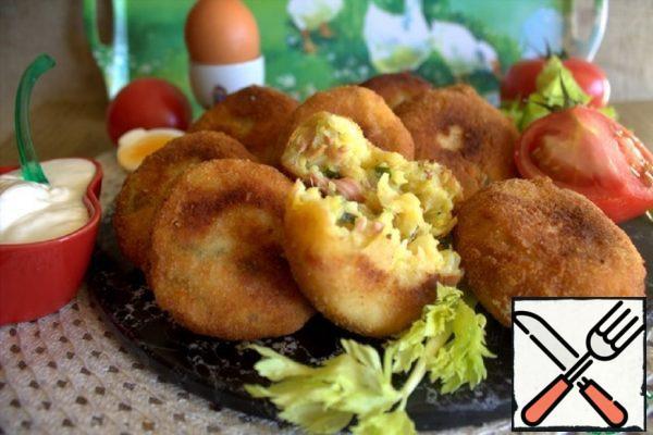 Potato Bombs with Cheese Recipe